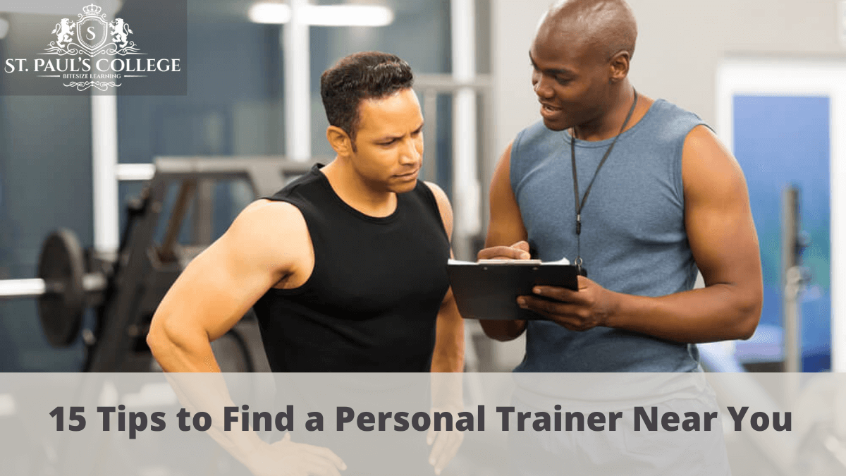15 Tips to Find a Personal Trainer Near You